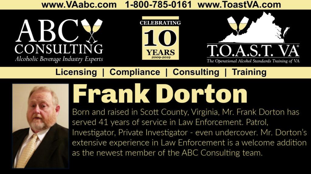 Frank Dorton, ABC Consulting