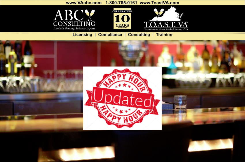 VAabc.com Changes to ABC laws for Happy Hour in Virginia