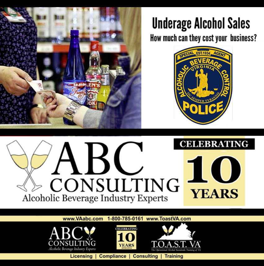 Underage Buying - ABC Consulting - Seller Training - alcohol license