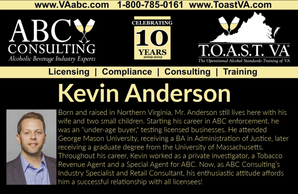 Kevin Anderson, ABC Consulting