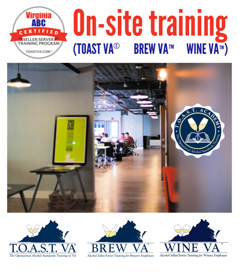 On-site training from ABC Consulting
