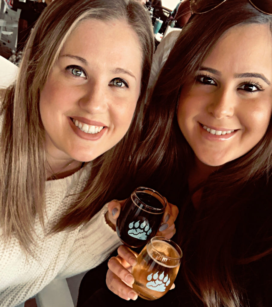 Kelly Walker, ABC Consulting alcohol consultant enjoys a beautiful afternoon with bestie Jessica