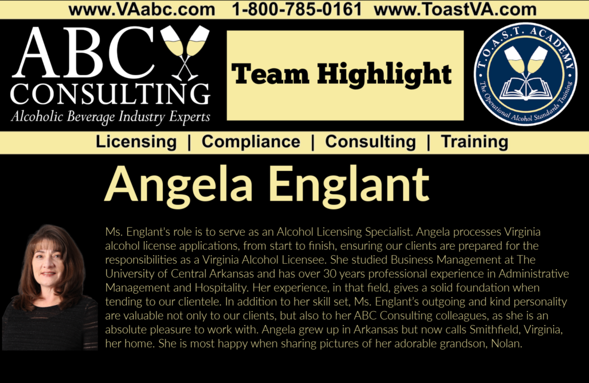 Angela Englant, ABC Consulting, Friday Introduction, Team Highlight
