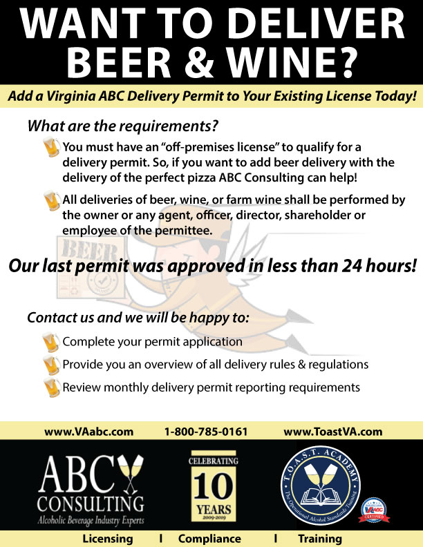 Deliver Beer and Wine, ABC Consulting