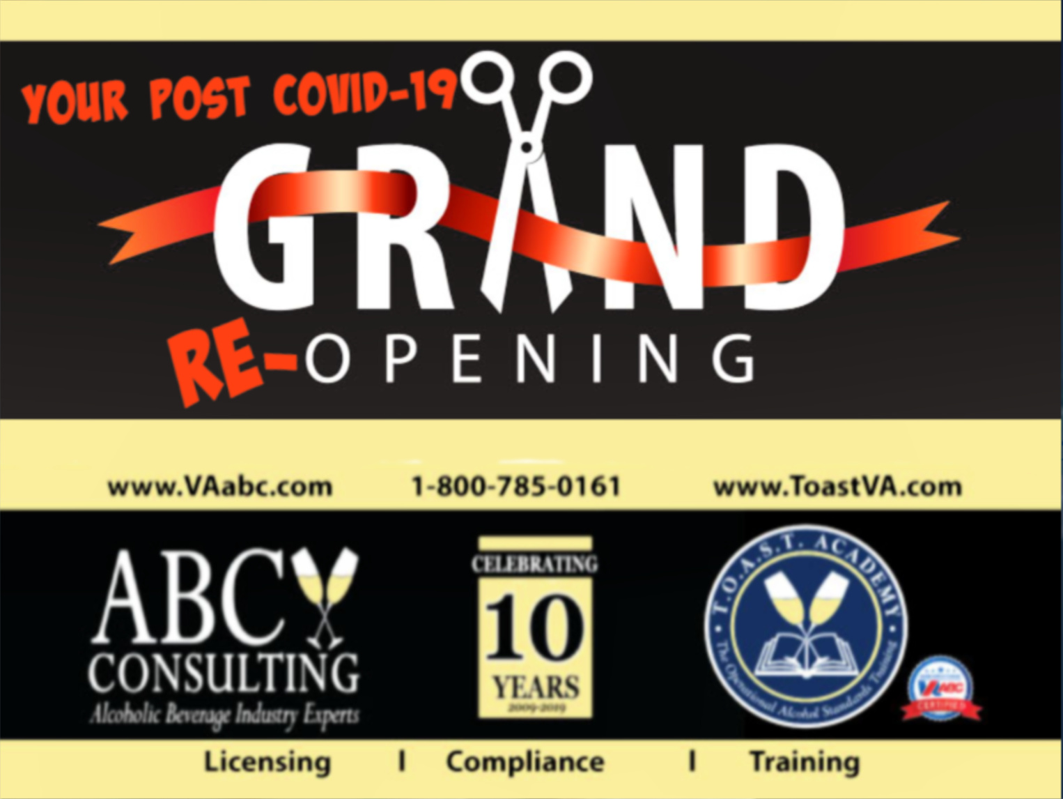 COVID-19 re-opening ABC